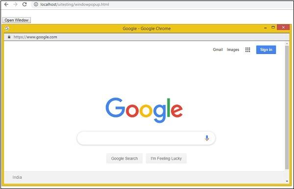 Watir - Browser Windows