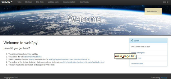 Web2py - Quick Guide - Tutorialspoint