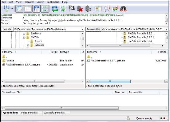 FileZilla 3.35.1
