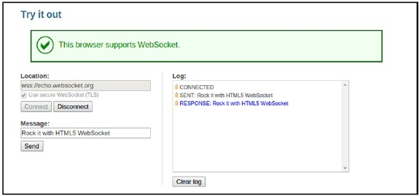 WebSockets - Quick Guide - Tutorialspoint