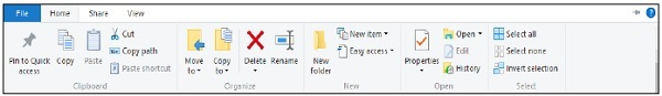 File Explorer Features