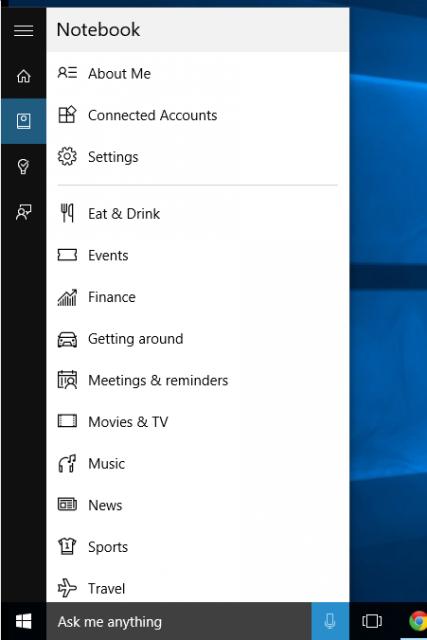 Personalizing Cortana