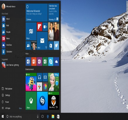 Start Menu Features