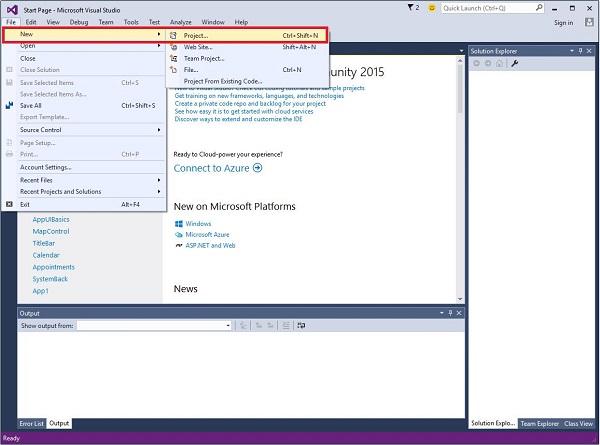 Windows 10 Development First App
