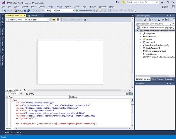 Windows 10 Development - Quick Guide