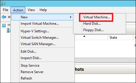 Virtual Machine Option
