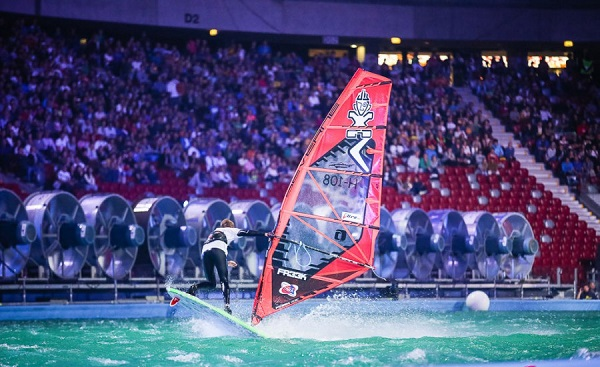 Indoor Windsurfing