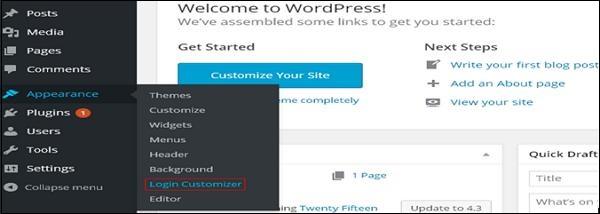 Custom Login Page Customizer 3