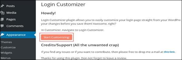 Custom Login Page Customizer 4