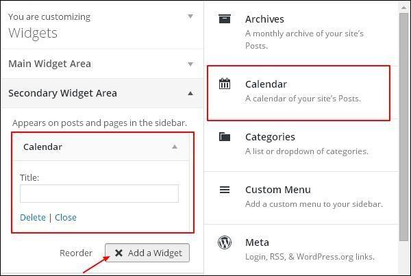 Customize Theme in WordPress 23