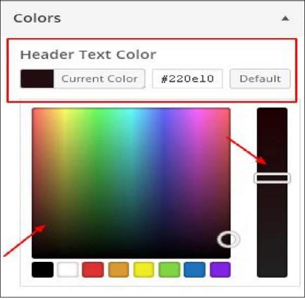 Customize Theme in WordPress 5