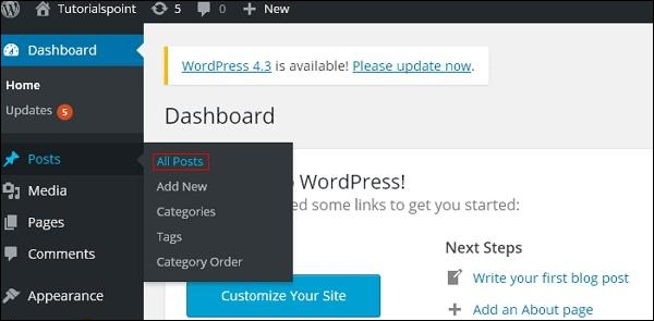 WordPress preview posts