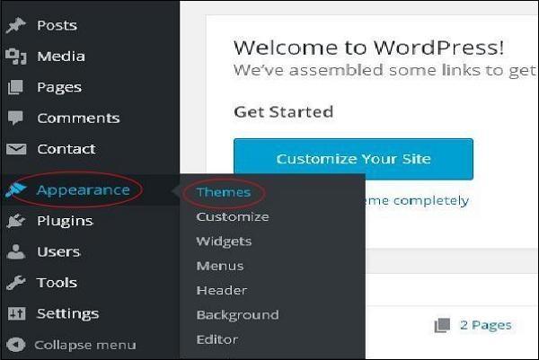 WordPress Theme Manegement