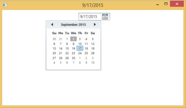 WPF - Datepicker - Tutorialspoint