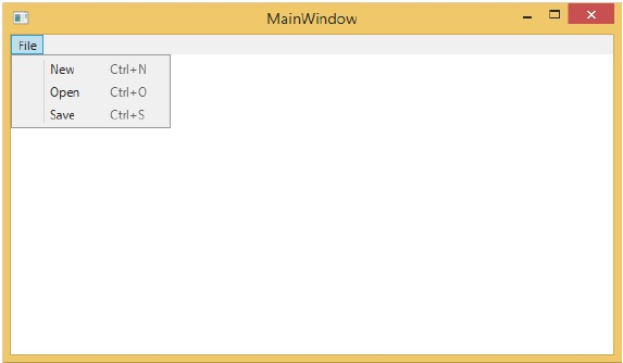 WPF - RoutedCommands - Tutorialspoint