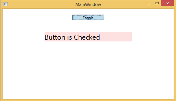 Togglebutton | 2,000 things you should know about wpf.