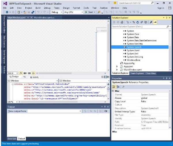 WPF - Quick Guide - Tutorialspoint