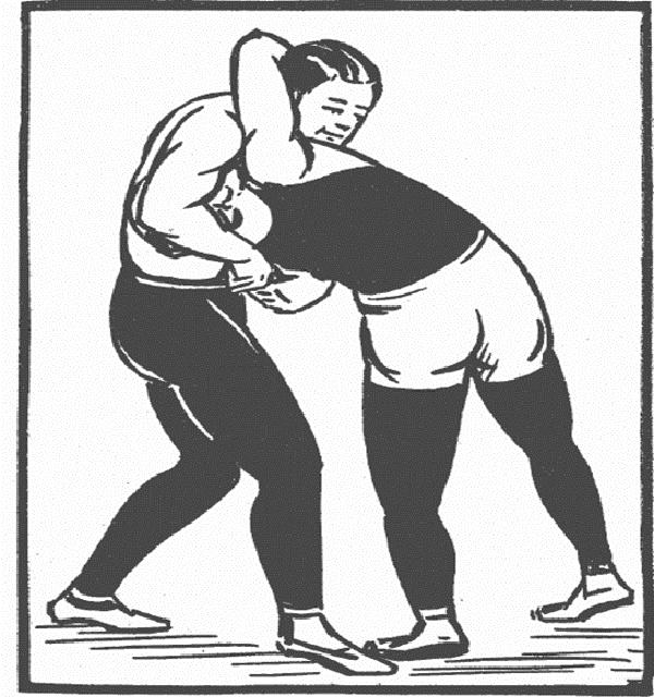 Wrestling Headlock