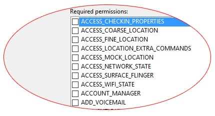 Access Checkin Properties