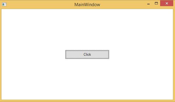 XAML - Event Handling - Tutorialspoint