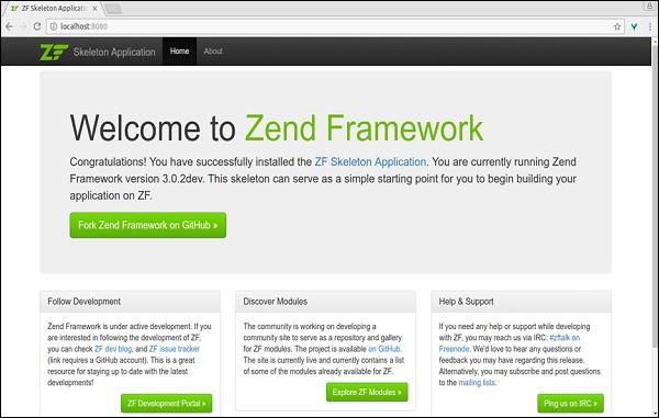 Zend Framework - Quick Guide - Tutorialspoint