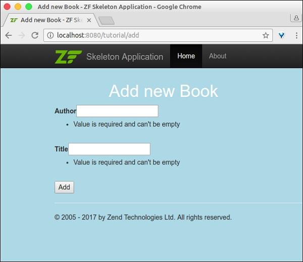 zend framework quick guide rh tutorialspoint com ExpressionEngine PHP Zend Platform Product